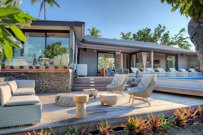 vomo island fiji accommodation beachouse outside