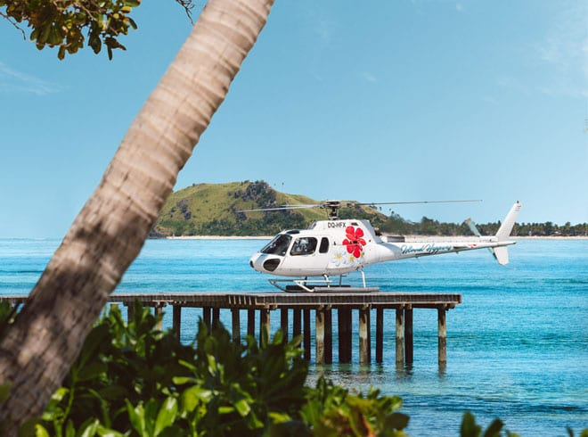 fiji helicopter transfers