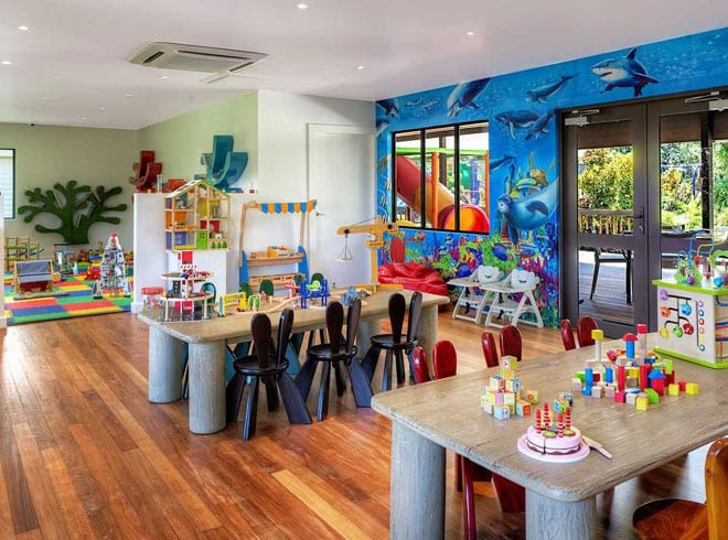 fiji luxury resort kids clubs