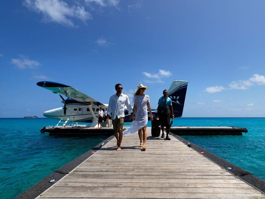 fiji seaplane transfers