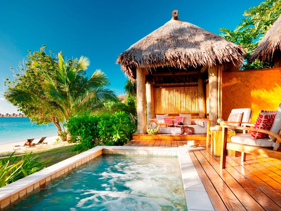 likuliku lagoon resort fiji deluxe beachfront bure