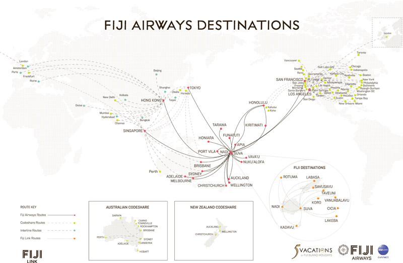 first class flights us to fiji