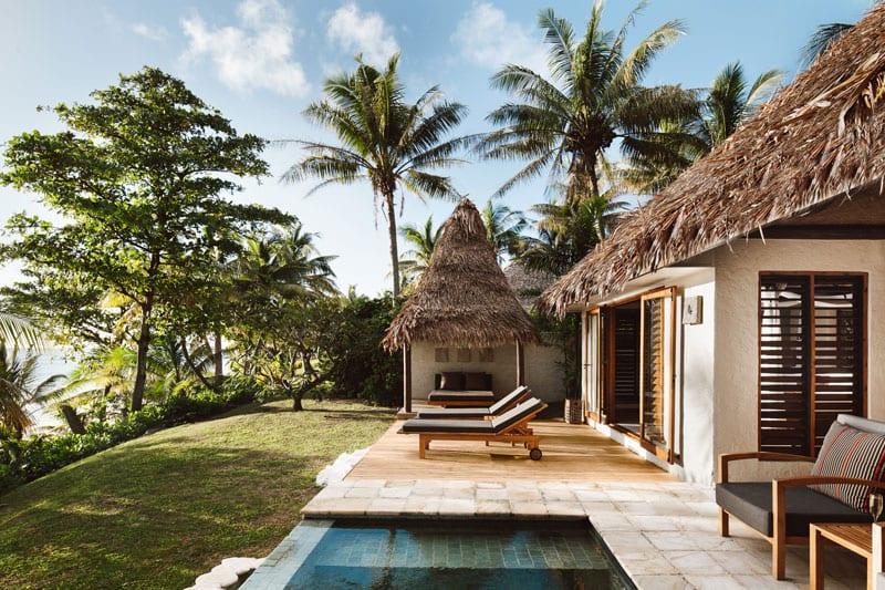tokoriki island resort beachfront pool villa photo